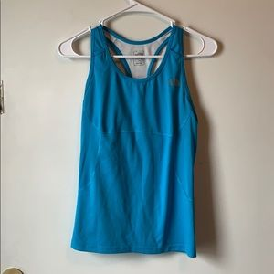 North face tank top with built in bra medium